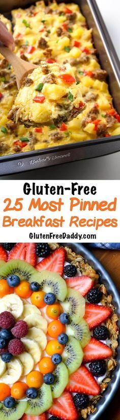 25 Most Pinned Gluten-Free Breakfast Recipes