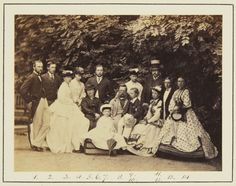 Group, Coburg, August 1865 [in Portraits of Royal Children Vol.9 1865] | Royal Collection Trust