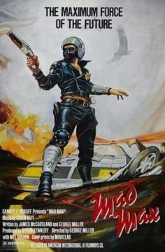 Mad Max Movie Poster Standup 4inx6in
