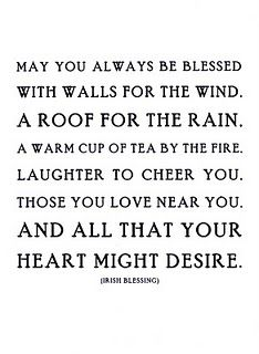 Irish Blessing Will use this text for Christmas cards this year...