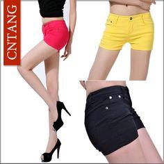 Cute Casual Pencil Shorts