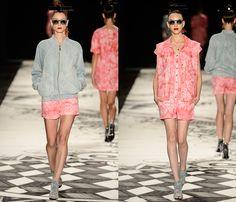 (2) Juliana Jabour - São Paulo Fashion Week - Denim & Jeanswear 2014 Summer Womens Runways - 2014 Verao Desfiles Passarela das Mulheres