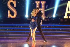 Sasha Pieterse looked gorgeous in this sparkly blue dress on DWTS! Find out how Sasha Pieterse did dancing the Cha Cha on 'Dancing with the Stars' week one. PLL, Pretty Little Liars