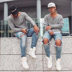 ... With My twin @jaii_c by @champaris75 #champaris