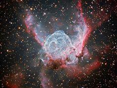 L'elmo di #Thor - Le più belle foto astronomiche del 2012
