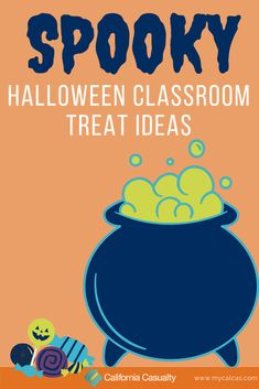 This Halloween, make your student's day in the classroom a little sweeter (and a lot more creepy) by giving them treats that will stop them dead in their tracks- pun intended. Classroom Halloween Party, Classroom Treats, Spooky Halloween, Halloween Treats, Spider Cookies, Students Day, Pigs In A Blanket, Chex Mix, Rice Krispie Treats