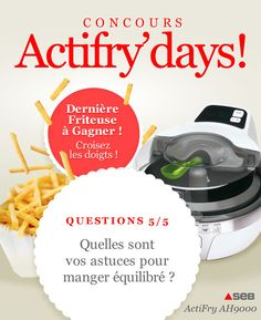 Jeux-Concours Actifry'Days – 5