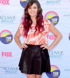 2012 Teen Choice Awards red carpet arrival pics: Rebecca Black