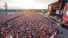 86.000 Menschen waren am Freitagabend bei Rock am Ring.