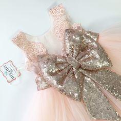 Flower girl dress for Amelia Rose