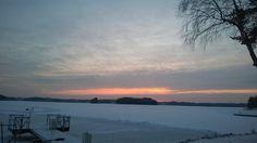 #Punkaharju #Suomi #Finland #talo #myytävänä #houseforsale #talomyytävänä #talvi #winter #piha #garden #luonto #nature