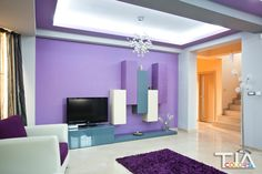 Living lila Living Room, Furniture, Relax, Room, House, Lighted Bathroom Mirror, Home Decor, Bathroom Mirror, Mirror
