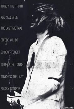 One of my absolute favorite songs on A Beautiful Lie.