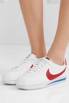 Nike | Classic Cortez leather sneakers | NET-A-PORTER.COM