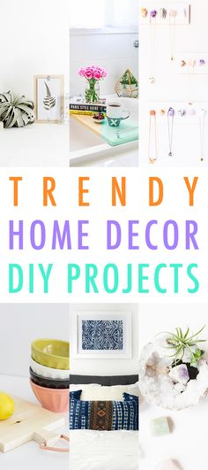 Trendy Home Decor DIY Projects - The Cottage Market