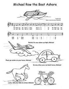 farmer in the dell coloring pages | Οι 204 καλύτερες εικόνες του πίνακα music worksheets and ...