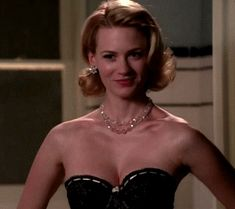 January Jones ~ gif