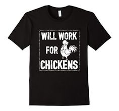 Funny Chicken Memes, Chicken Humor, Funny Shirts, Amazon, Mens Tops, T Shirt, Tee Shirt, Riding Habit, Tee