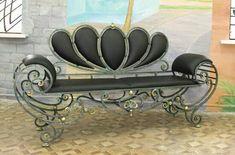 Bilder på veggen til felleskapet Iron Furniture, Steel Furniture, Industrial Furniture, Iron Bench, Iron Table, Wrought Iron Beds, Iron Art, Metal Crafts, Metal Art