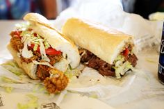 Parkway bakery has some of the best poboys in the city! A must try on your next visit to New Orleans.