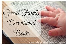 Great Family Devotional Books  - a list of the top 20