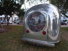 vintage travel trailer: love stream #2 by randy polumbo - designboom | architecture & design magazine