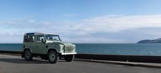 17 Photos That Will Make You Want A Land Rover Defender Heritage Edition - Airows Landrover Defender, Land Rover Defender 110, Defender 90, Beach Cars, Auto Motor Sport, Say Bye, Car Images, Land Rovers, Car And Driver