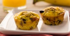 WW Freestyle Zero Point Snacks: Bean and Egg Muffins