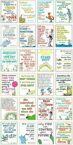 Love the Seuss posters. A Year of FHE: Girls' Camp is upon us! Love the Seuss posters. A Year of FHE: Girls' Camp is upon us! Dr. Seuss, Bulletins, Girls Camp, Kids Girls, School Counseling, Classroom Organization, Google Drive, Just In Case, Coaching