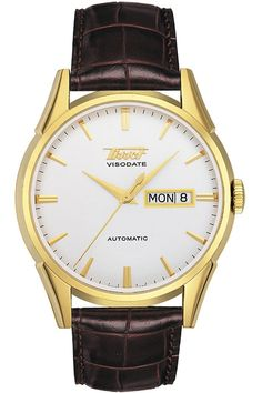 El Tissot Heritage Visodate Automatic convierte la nostalgia en relojes  contemporáneos dedicados al detalle. Compra aquí online y al mejor precio. 35e5b8ab4ed8