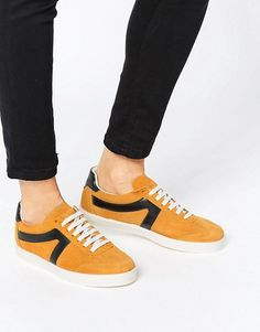 River Island | River Island Suede Lace Up Trainer