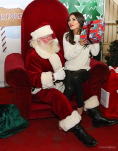 Victoria Justice, Delta Airlines' Holiday in the Hangar, Los Angeles, December 11, 2013