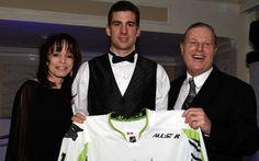Isles Casino Night 2015 John Tavares, Casino Night, Hockey Players, All Saints, Coat, Fashion, Moda, All Saints Day, Sewing Coat