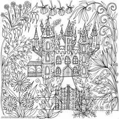 Colouring Pages Coloring Books Adult Vintage Printable Sheets