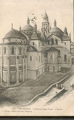 24 PERIGUEUX - cathédrale saint front - l abside