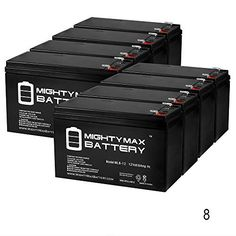 12V 8Ah Razor Pocket Mod Bistro 15130638 Scooter Battery  8 Pack  Mighty Max Battery brand product -- Check out this great product.