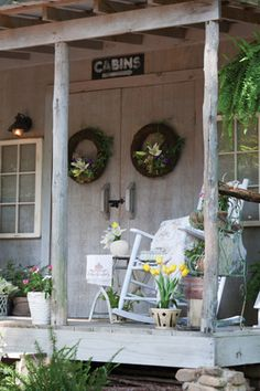 Pretty Porch Furnishings - Set the stage for outdoor living with the right patio and porch furniture.