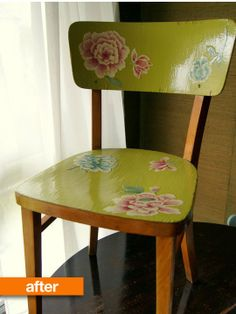 Before & After: Audrey's Scavenged Parisian Chair Makeover