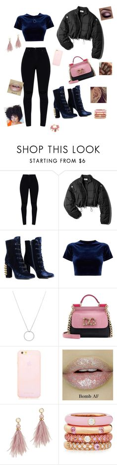 """Strawberry Bubblegum"" by trinsanity on Polyvore featuring 3.1 Phillip Lim, Roberto Coin, Dolce&Gabbana, Lizzie Fortunato and Adolfo Courrier"