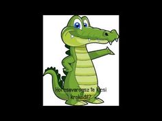 Hol csavarogsz te kicsi krokodil? - Mesélő Jelek™ Program - YouTube