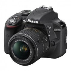 Nikon D3300 24.2 MP CMOS Digital SLR with Auto Focus-S DX NIKKOR 18-55mm f/3.5-5.6G VR II Zoom Lens (Black) and more at http://wallmikes.com/cameras