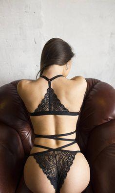 9b0ee9d6bf2 Harness lingerie body harness strappy lingerie hot Стильний Чорний
