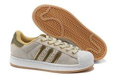 wholesale dealer 8a161 2e1fa 1767   Adidas Superstar Billigt Dam Beige Gul SE715410jVvYNIxso Cuero,  Zapatillas Adidas Superstar, Zapatillas