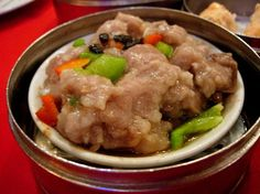 Chinese Dim Sum Steamed Spare Ribs With Black Bean Sauce Recipe