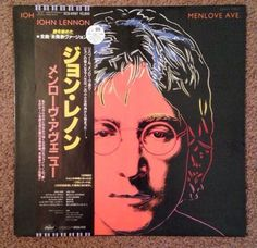 John Lennon Menlove Ave With Andy Warhol Art Cover