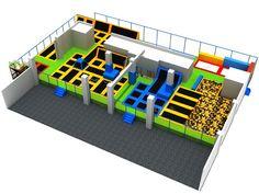Customized Indoor Trampoline Park