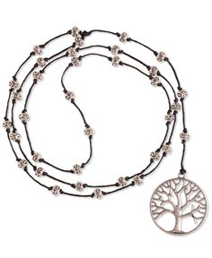 Earth Tree Beaded Necklace #SFPinGoodVibes Re-Pin your fave outfits, accessories, and jewelry to enter to win a $100 gift card or one of two $25 gift cards! Contest ends 12/4. #SFPinGoodVibes
