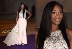 7/12/15 Crowned a 6th time, Serena Williams attends the Wimbledon Champions Dinner.  Via Bella Naija. #BellOfTheBall
