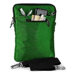 Slim-Light Hydei Sholder Bag [Leaf Green] For Samsung ATIV Books & ChromeBooks