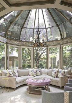 Where can I find a solarium room? - The most popular method is to create a room . , Where can I find a solarium room? - The most popular method is to become a room where you can meet with family and friends - Dream Home Design, My Dream Home, Home Interior Design, Mansion Interior, Interior Plants, Interior Ideas, Interior Lighting, Solarium Room, Formal Living Rooms